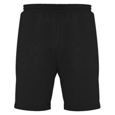 Цвет Черный, Мужские шорты - PrintSalon