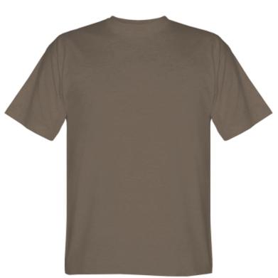Цвет Коричневый, Мужские футболки - PrintSalon