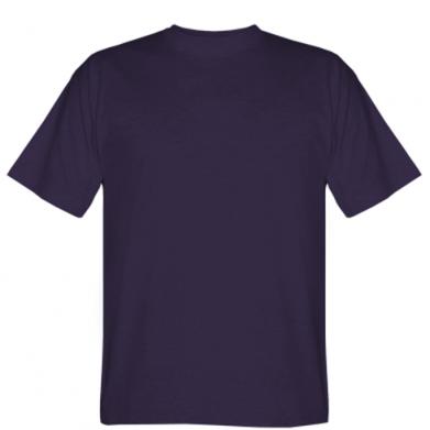 Цвет Фиолетовый, Мужские футболки - PrintSalon