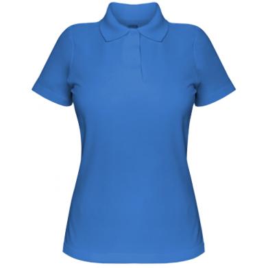 Цвет Синий, Поло женские - PrintSalon
