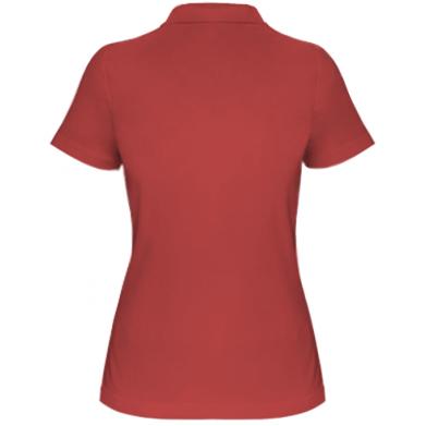 Цвет Красный, Поло женские - PrintSalon