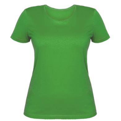 Цвет Зеленый, Женские футболки - PrintSalon