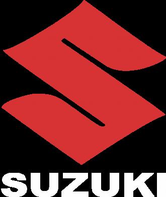 Принт Женская футболка с V-образным вырезом Suzuki - PrintSalon