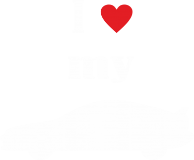 Принт кепка I love my car - PrintSalon