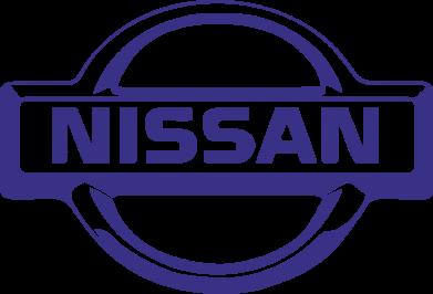 Принт Женская майка логотип Nissan - PrintSalon