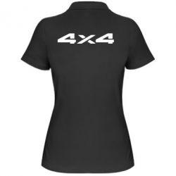 Женская футболка поло 4x4 - PrintSalon