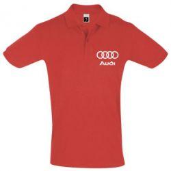Футболка Поло Audi - PrintSalon
