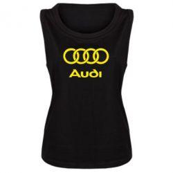 Женская майка Audi - PrintSalon