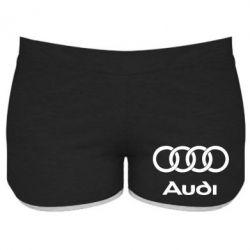 Женские шорты Audi - PrintSalon
