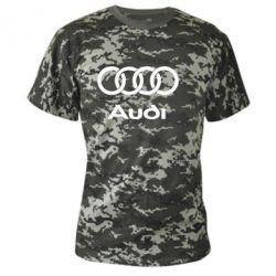 Камуфляжная футболка Audi - PrintSalon