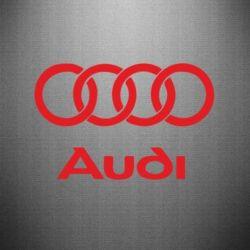 Наклейка Audi - PrintSalon