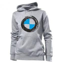 Женская толстовка BMW Graffity