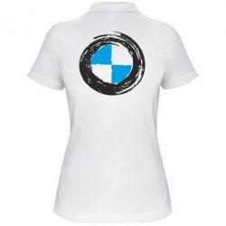 Женская футболка поло BMW Graffity