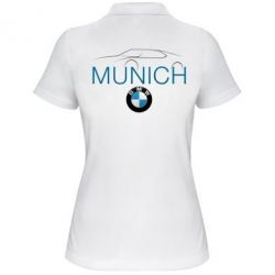 Женская футболка поло BMW Munich