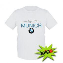 Детская футболка BMW Munich