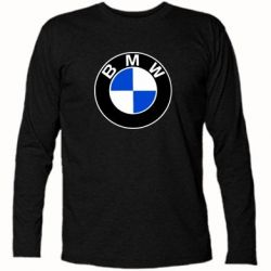 Футболка с длинным рукавом BMW - PrintSalon