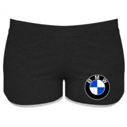 Женские шорты BMW - PrintSalon