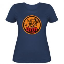 Женская футболка Drift for Life