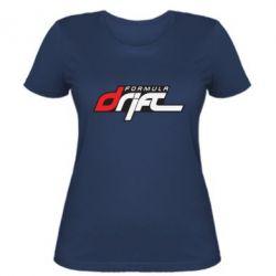 Женская футболка Drift Formula