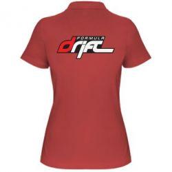 Женская футболка поло Drift Formula