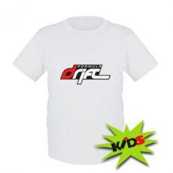 Детская футболка Drift Formula