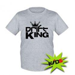 Детская футболка Drift King