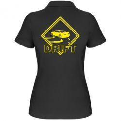 Женская футболка поло Drift - PrintSalon