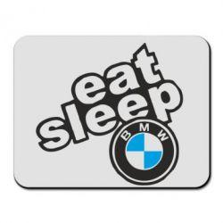 Коврик для мыши Eat, sleep, BMW