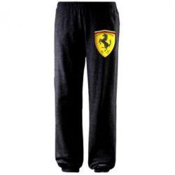 Штаны Ferrari 3D Logo