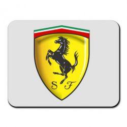 Коврик для мыши Ferrari 3D Logo
