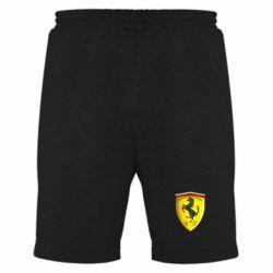 Мужские шорты Ferrari 3D Logo