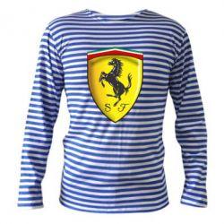 Тельняшка с длинным рукавом Ferrari 3D Logo