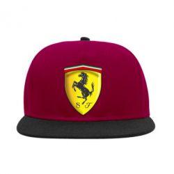 Снепбек Ferrari 3D Logo