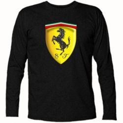 Футболка с длинным рукавом Ferrari 3D Logo