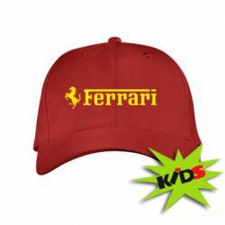 Детская кепка Ferrari - PrintSalon