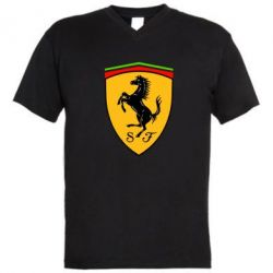 Мужская футболка  с V-образным вырезом Ferrari