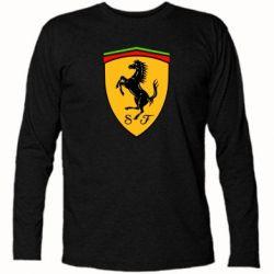Футболка с длинным рукавом Ferrari