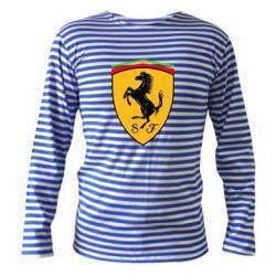 Тельняшка с длинным рукавом Ferrari