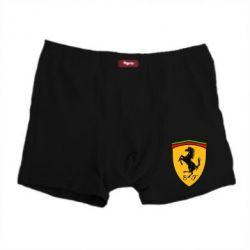 Мужские трусы Ferrari