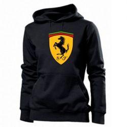 Женская толстовка Ferrari