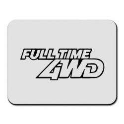 Коврик для мыши Full time 4wd - PrintSalon