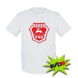 Детская футболка ГАЗ - PrintSalon