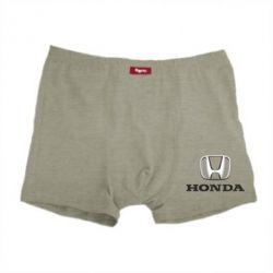 Мужские трусы Honda 3D Logo