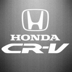 Наклейка Honda CR-V