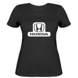 Женская футболка Honda Stik