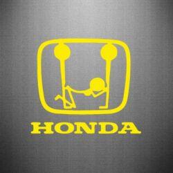 Наклейка Honda - PrintSalon