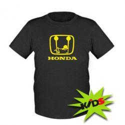 Детская футболка Honda - PrintSalon