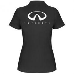 Женская футболка поло Infiniti