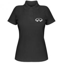 Женская футболка поло Infinity - PrintSalon