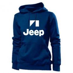 Женская толстовка Jeep Logo